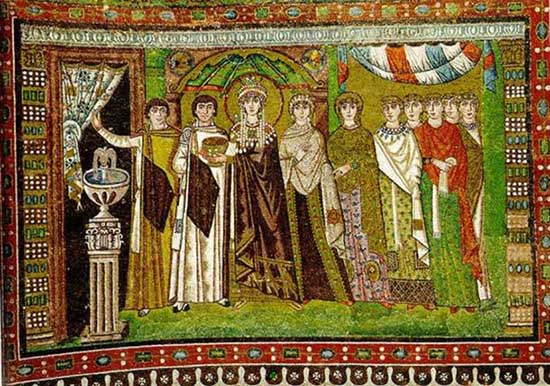 Roman tapestry